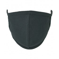 Mask with seam in the middle Dark Grey (PMG3)