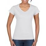 Gildan Ladies V-neck T-shirt 64V00L
