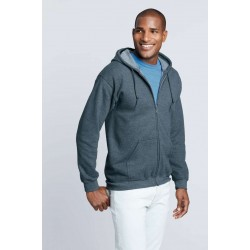 Gildan Full Zip Hooded Sweatshirt 18600