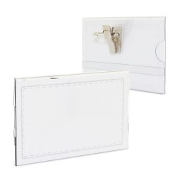 CARD HOLDER WITH SAFETY CLIP (Z-400)