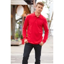 Gildan long sleeve polo 64800